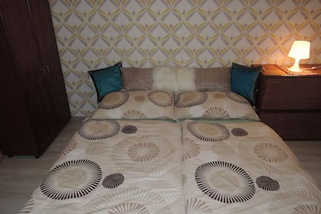 Retro room with garden in new flat - 布爾諾 - 公寓