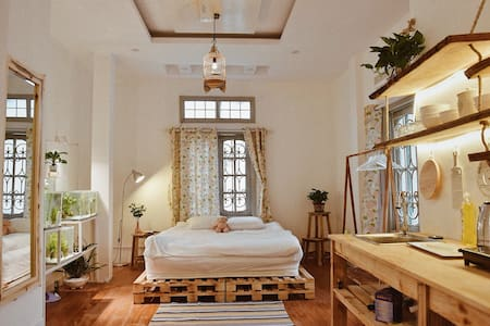 Langmandi -Beca Room, Pretty House in Centre Hanoi