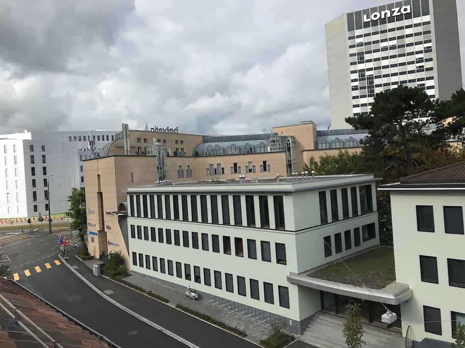 Basel City South Side