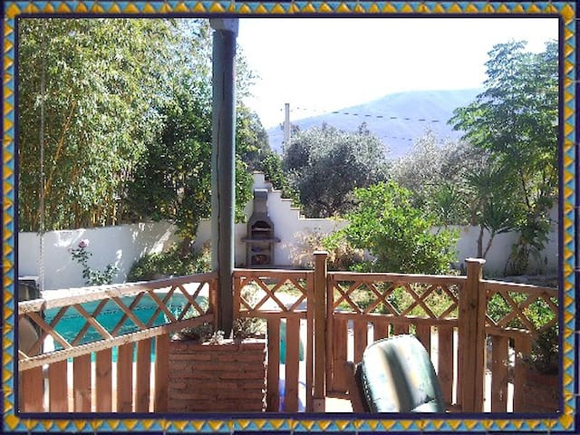 Holiday cottage with private pool. - Órgiva - Byt