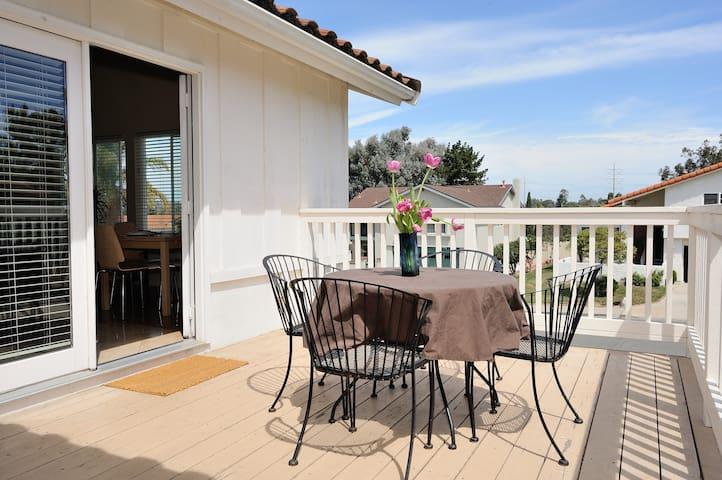 Bright & Airy Encinitas Retreat - Encinitas - Appartement