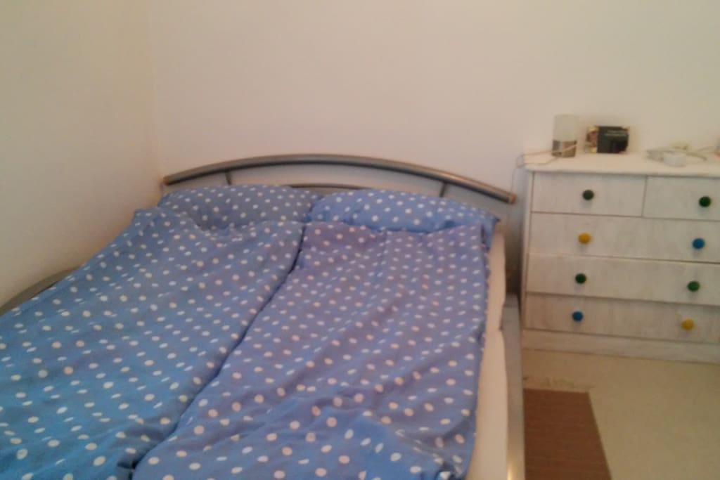 Bedroom 1 with one doublebed
