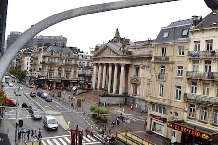 Brussels city center - Brüsszel