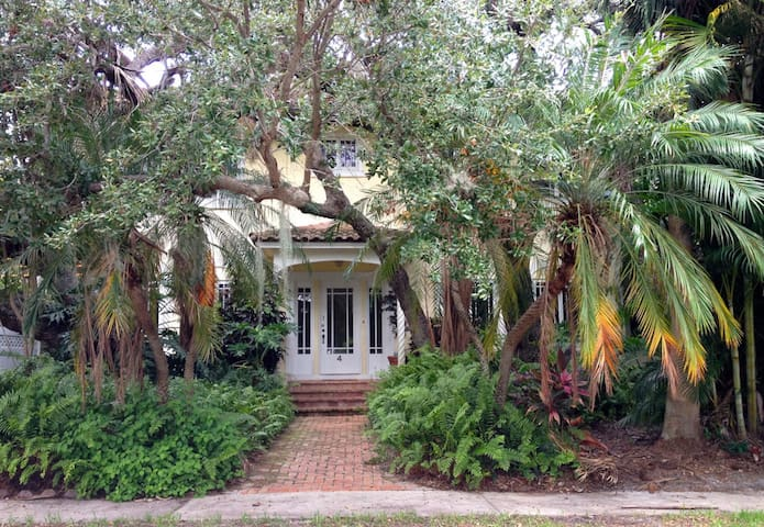 Historic Live Oak House - Lake Worth - Casa