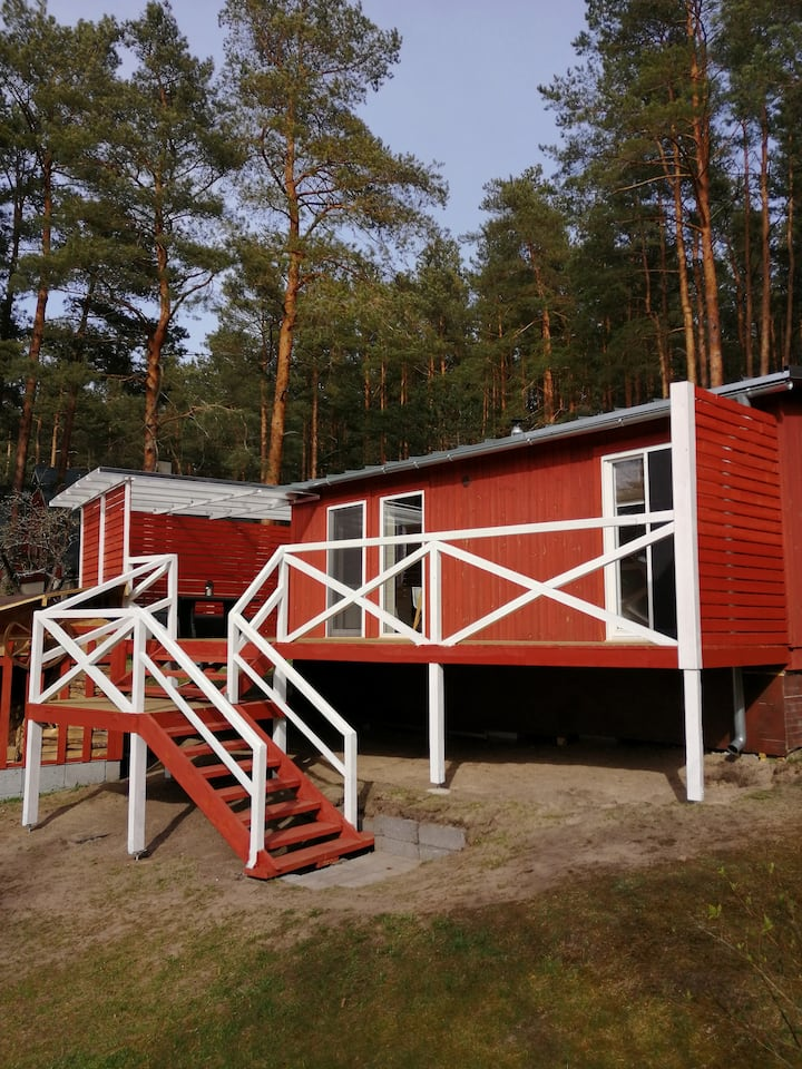 Holiday home near sea beach & pine forest