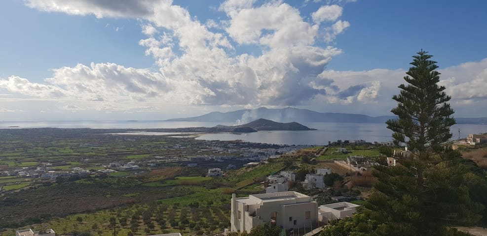 7 Days - suite Naxos view