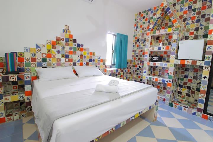 Casa Talavera 3 - King bed - Steps from Hidalgo