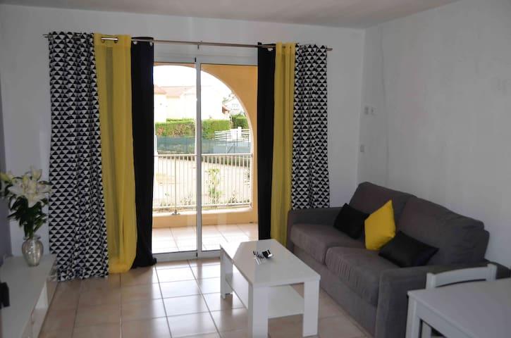 Studio pour 4, bord de mer, tout confort - Cervione - Apartment