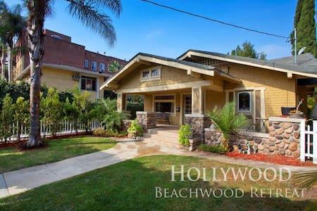 HOLLYWOOD Bungalow on BEACHWOOD  - Los Angeles - House