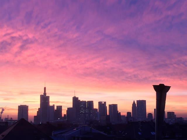 skyline view (sun-set)
