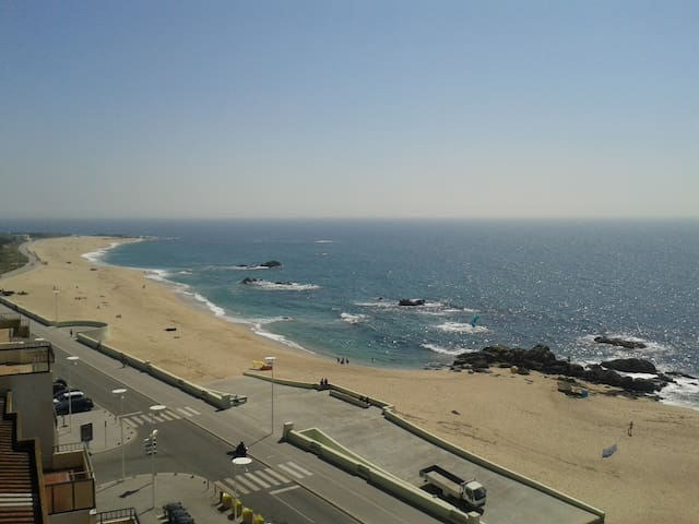 Spacious apartment with ocean view  - Vila do Conde - Apartemen