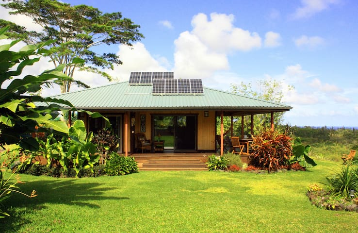 Mahi Oli'Oli--6 acre SeaView, QUIET - Pāhoa - Dom
