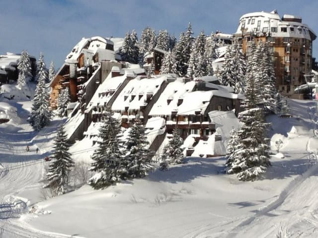 Avoriaz Les Mélèzes, appartement 2 rooms - Avoriaz - Apartment