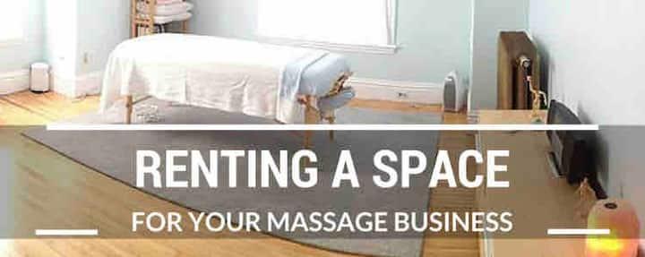 Massage/lash studio /pop-up shop commercial space