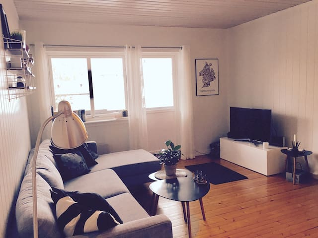 Lovely apartment in Moss/Jeløya - Moss - Daire