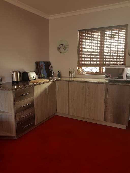 Small kitchenette, catering for the basics