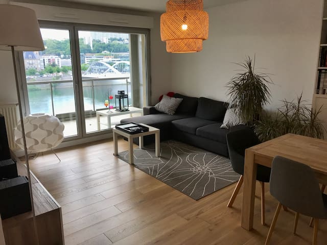 Chambre privée dans appartement quai de Saône