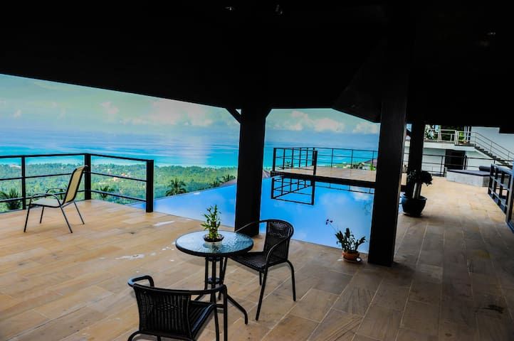 Villa private pool amazing sea view - Chora-khe Rong - Villa
