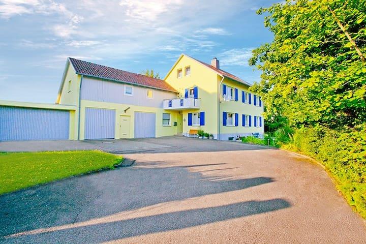 """Auszeit-Ferienwohnung Veringenstadt """"Sternenzelt"""" - Veringenstadt - Apartment"""