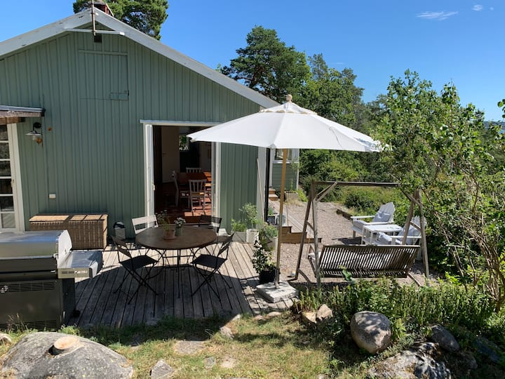 Great view in Sthlm archipelago, family friendly