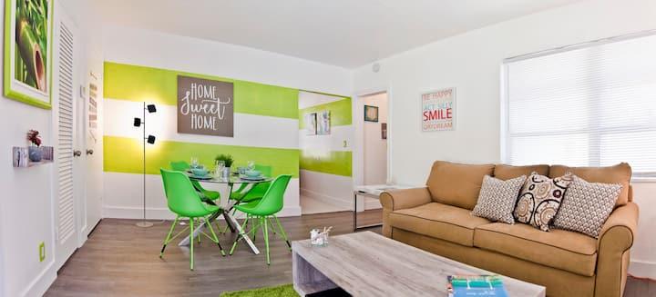 Beach Modern apartment with backyard★ A+Location