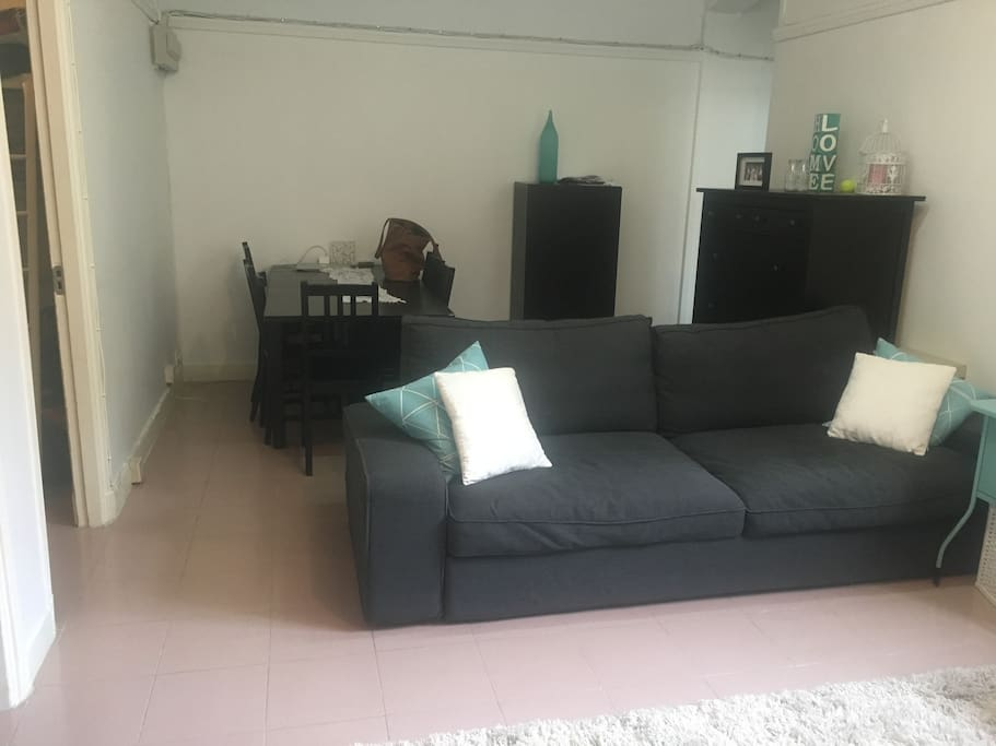 Living Room-Double Sofa bed