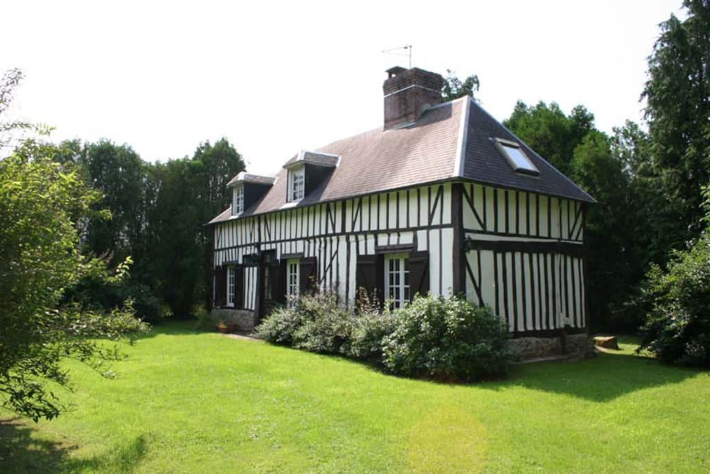 Maison de charme normande houses for rent in drucourt haute normandie france - Maison de charme normandie ...