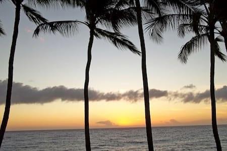 Beautiful Oceanfront Kona Magic Sands Condo - Kailua-Kona - Condominium