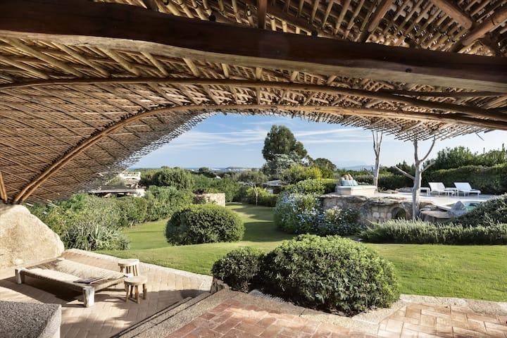 3 Master suites - Porto Cervo - Celvia beach
