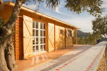 Charming Wooden Eco-House Sougia
