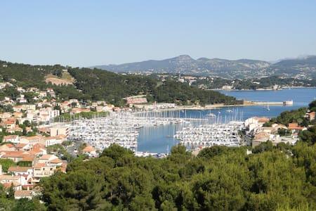 Bel appartement avec vue magnifique - Saint-Mandrier-sur-Mer - Daire