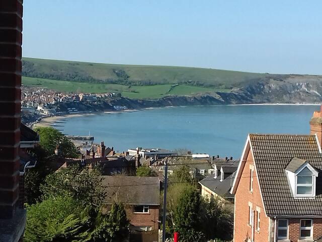 Dorset home with sea views
