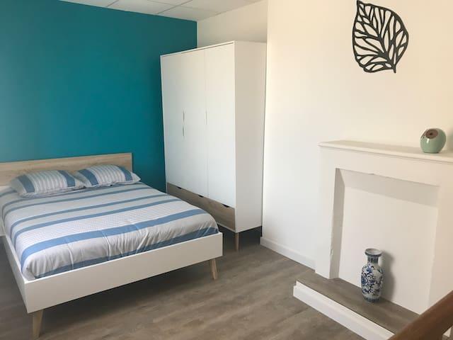 L'Heure Bleue - Coquet T2 Duplex, Libourne centre