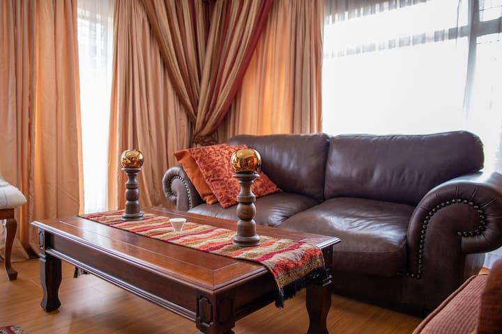 Golden Room - Near OR Tambo Airport & Highways!