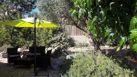 Bright  1-bedroomed apartment near Montpellier