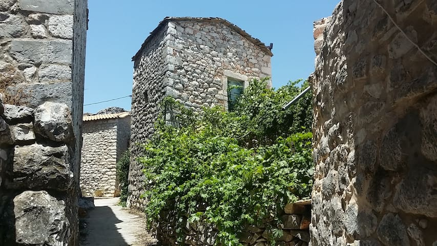 Old Tower-House in Mani peninsula