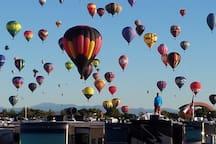 The amazing balloon fiesta! Every October!