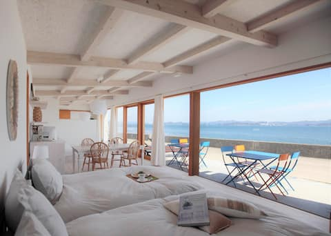 All- Oceanfront room+Free Car Rental Diary Ohshiba
