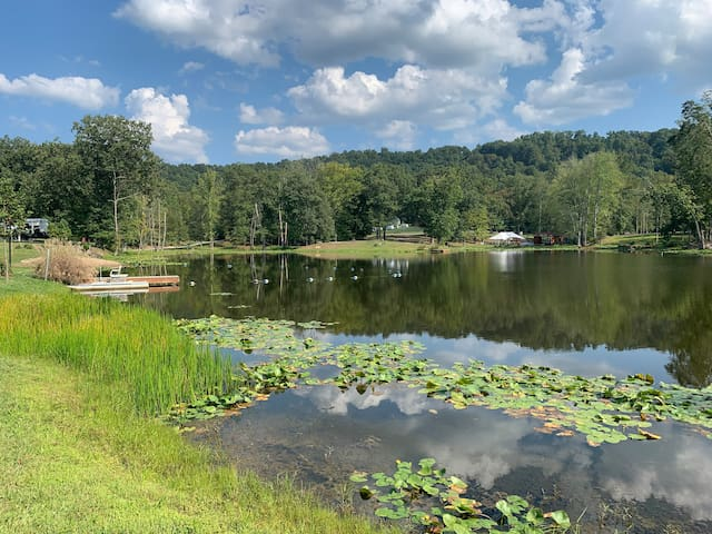 Callie's lake and Campground (primitive site)