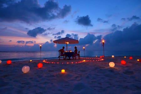 9度假国际自组游亲子游公司游闺蜜游圣诞新年特惠套餐过年好去处马尔代夫民宿酒店多项海上活动中文服务