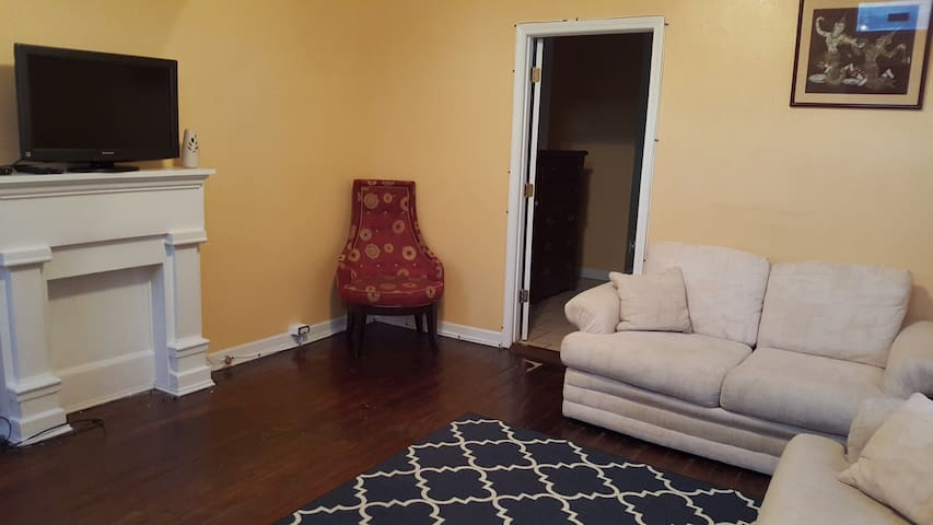 Spacious RIGHT Side Of Duplex Near French Quarter - New Orleans - House
