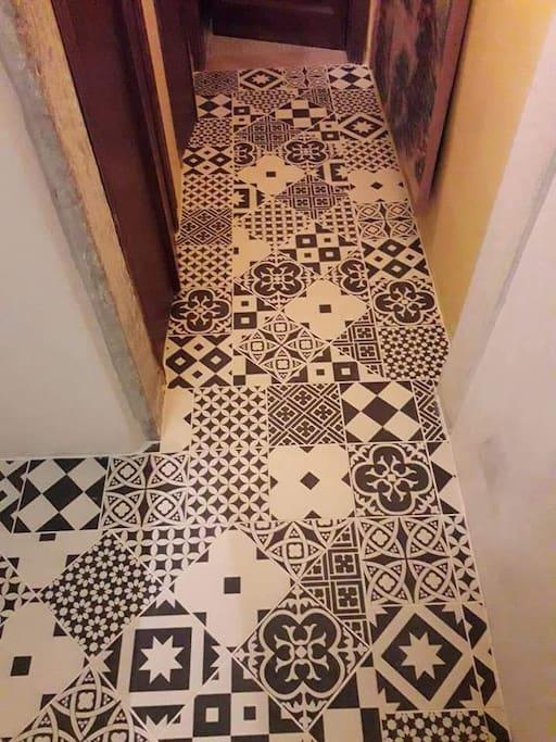 New wonderful kitchen floor