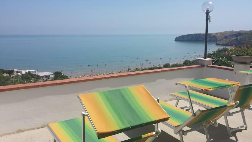 Bilocale vista mare case vacanze baia del gargano - Peschici