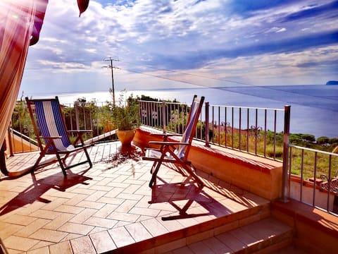 Sicht auf Korsika 1
