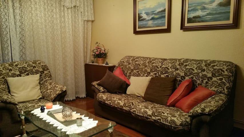 Apartamento amplio y confortable - Bilbao - Flat