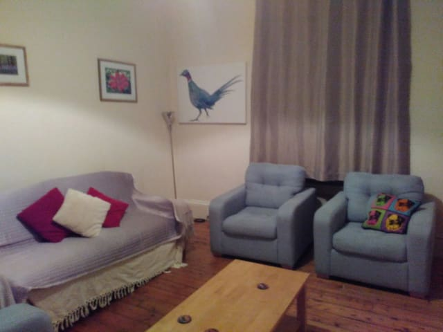 Great central location+free parking - Aberdeen - Casa