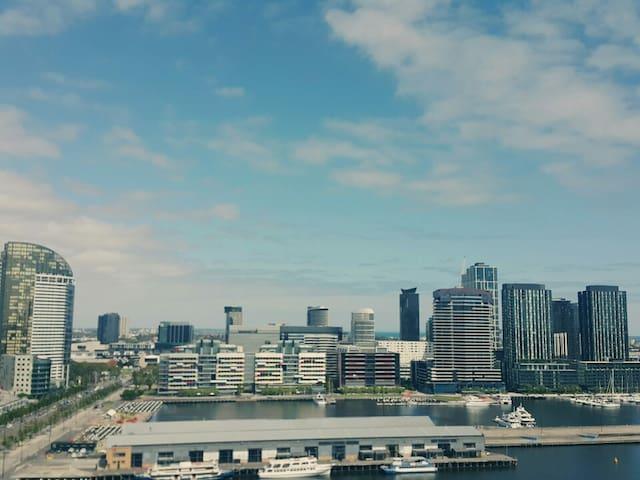 Melbourne CBD, Convient location, Free- wifi. - Docklands - Departamento
