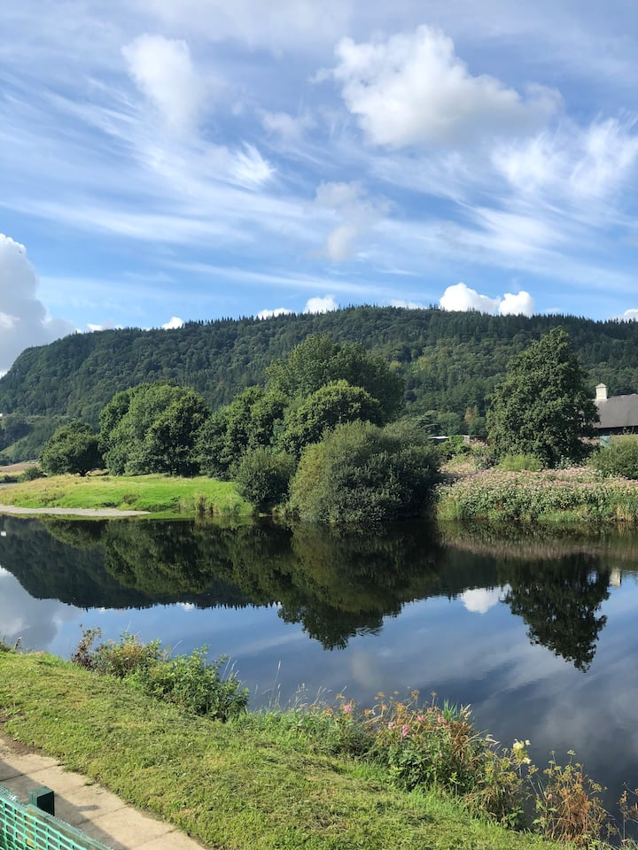 Looking over Conwy River & Gwydir Forest