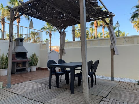 Espectacular apartamento con terraza cerca del mar