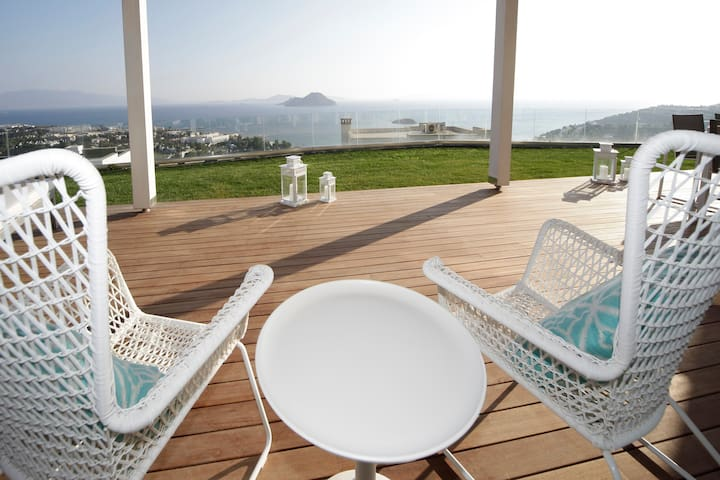 Bodrum Bungalow mit Infinity Pool - Bodrum - House